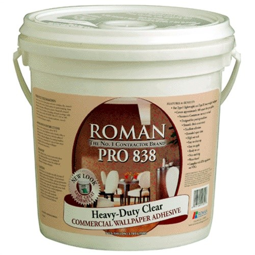 Roman 11301 Heavy Duty Clear Adhesive, Gallon - Walmart.com
