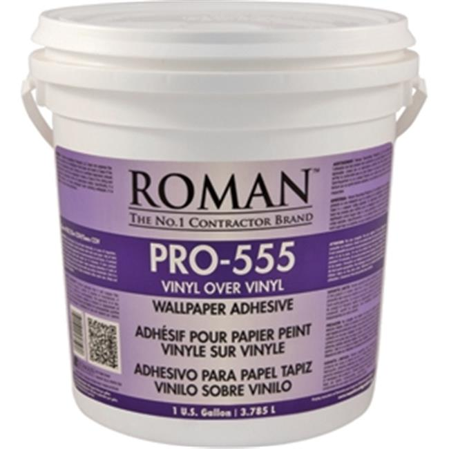 Roman Decorating Products PRO-555 1 Gallon Over Vinyl Wallpaper Adhesive - Walmart.com