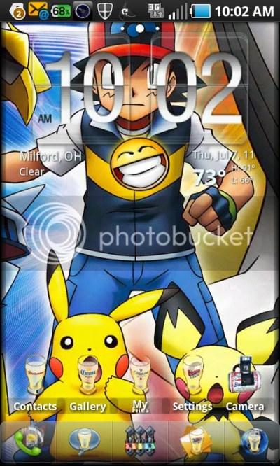 Pokemon live wallpaper