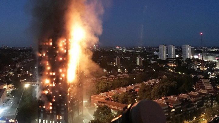 London fire  Six killed as Grenfell Tower engulfed   BBC News