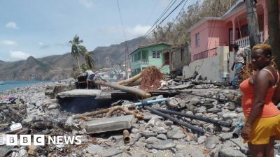Dominica grieving: Life after Hurricane Maria - BBC News