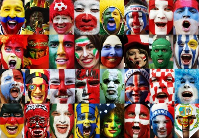 World Cup 2018  What England fans going to Russia should know   BBC News Faces of fans