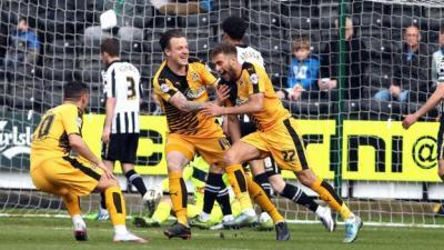 Notts County 1-2 Cambridge United - BBC Sport