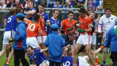 Photos from Armagh's win over Cavan - BBC Sport