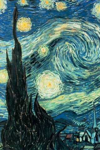 Starry Night iPhone Wallpaper | iDesign iPhone