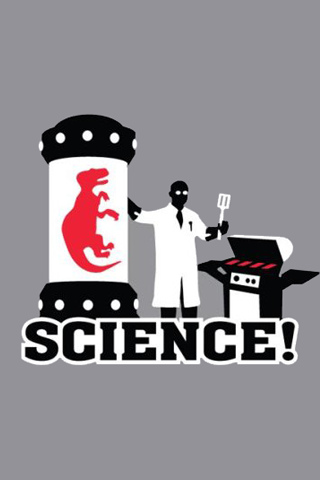 Science! – The other red meat iPhone Wallpaper | iDesign iPhone