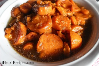 Baked Candied Yams Soul Food Style   I Heart Recipes