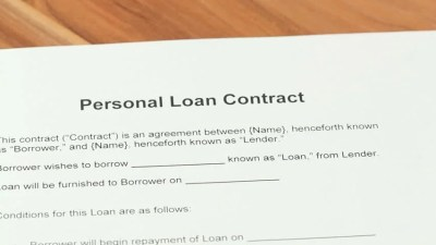 Personal loan definition/meaning