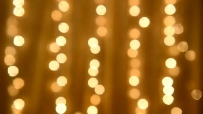 Out Of Focus Background Pattern Of Blinking Christmas Lights. Stock Footage Video 7472620 ...