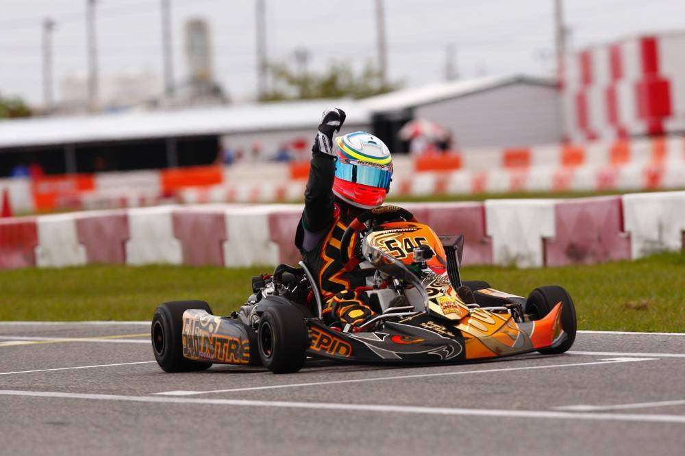 Team Goodwood Kartways Imaf seat gokart 1