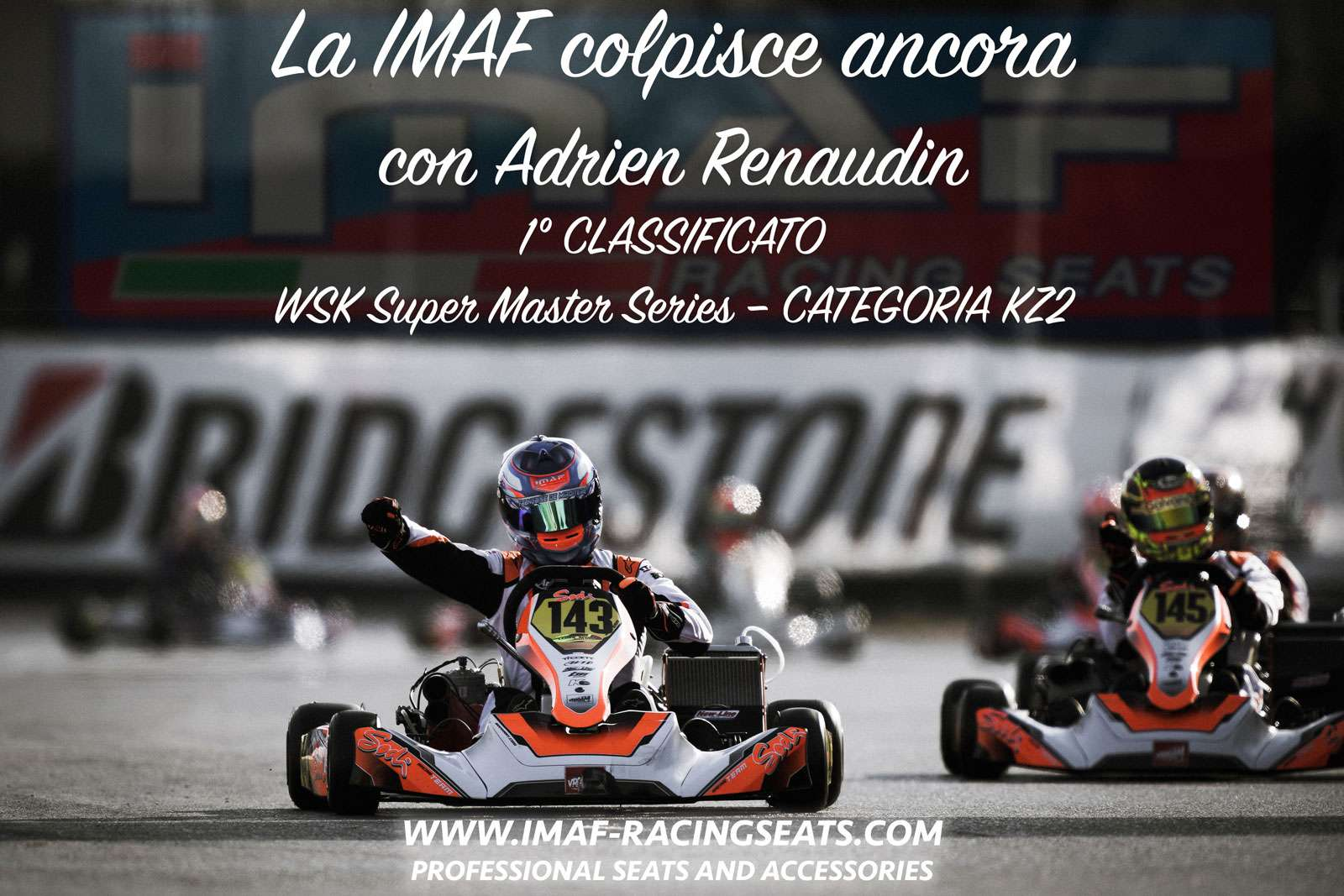 The IMAF strikes again with Adrien Renaudin