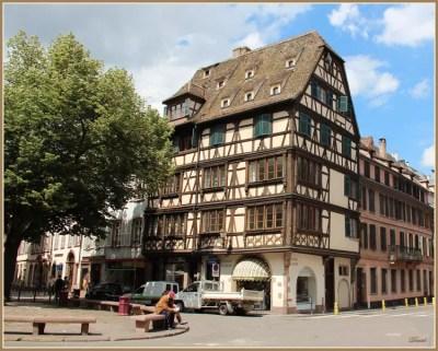 Place Saint Etienne - Strasbourg par Daniel MARTIN sur L'Internaute