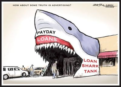 Need a payday loan to stay afloat? Sink or swim in the loan shark tank | AL.com