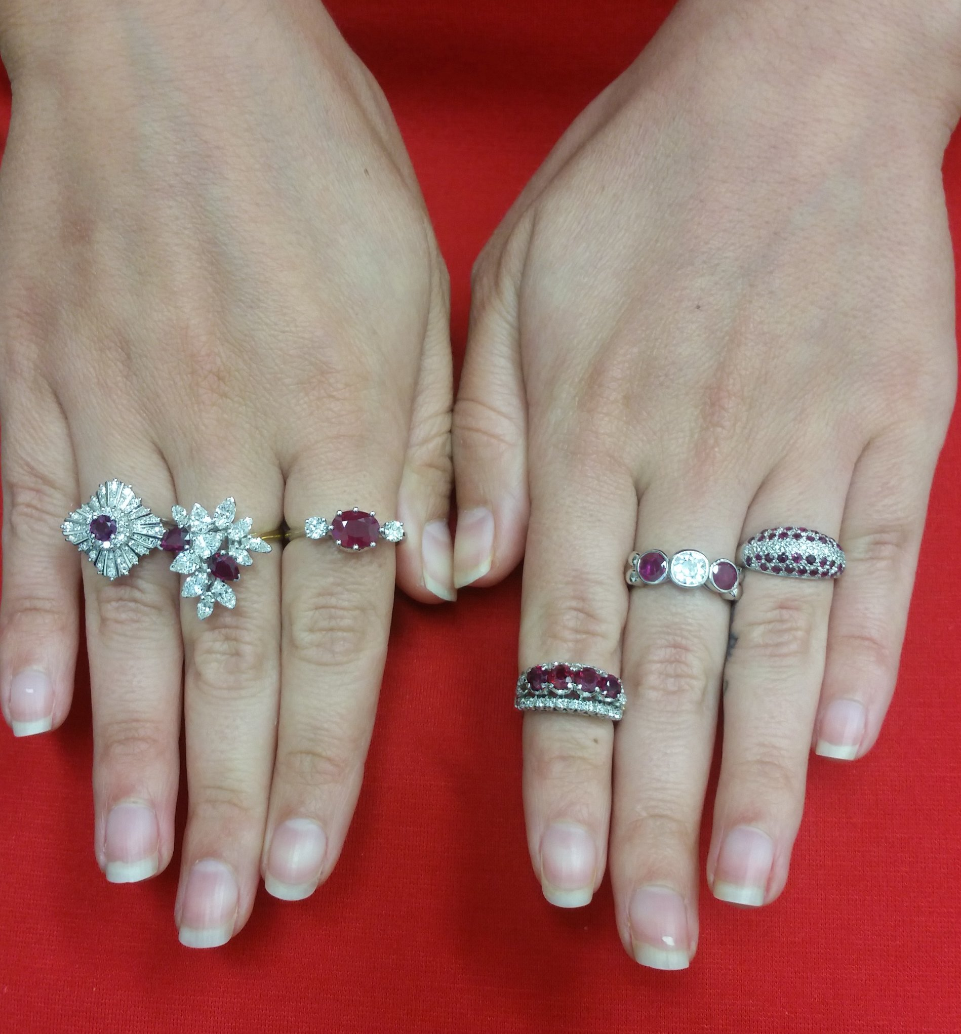 8 amazing ruby engagement rings brilliant earth wedding bands