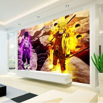 3d Naruto Wall Mural Custom Photo Wallpaper Japanese Anime Wallpaper Design Your Wall Murals ...