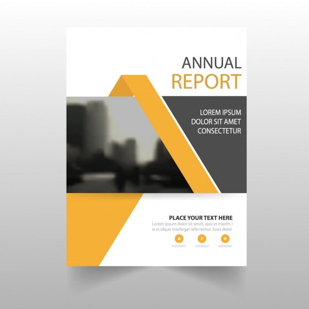 Brochure template design Vector   Free Download Brochure template design Free Vector