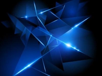 Abstrakten hintergrund mit blauen formen. | Download der ...