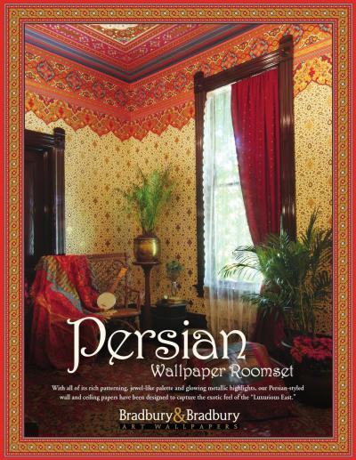 Persian Wallpaper Collection by Bradbury & Bradbury Art Wallpapers - issuu