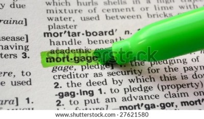 mortgage meaning dictionary