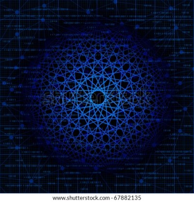Abstract Technologies And Science Theme Vector Background. Eps10 - 67882135 : Shutterstock
