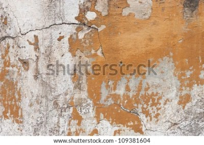 Badly Damaged Plaster Wall Wallpaper Background Stock Photo 109381604 : Shutterstock