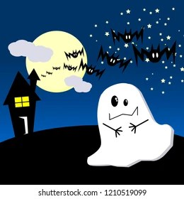 Similar Images, Stock Photos & Vectors of Ghost Couple Love Cemetery On Halloween - 86265439 ...