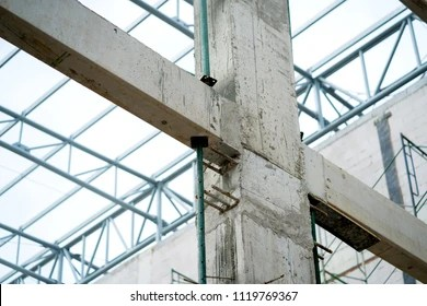 Concrete Columns Images, Stock Photos & Vectors | Shutterstock