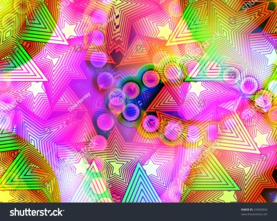 Background Made Out Colourful Shapes Stock Illustration 23569264 - Shutterstock