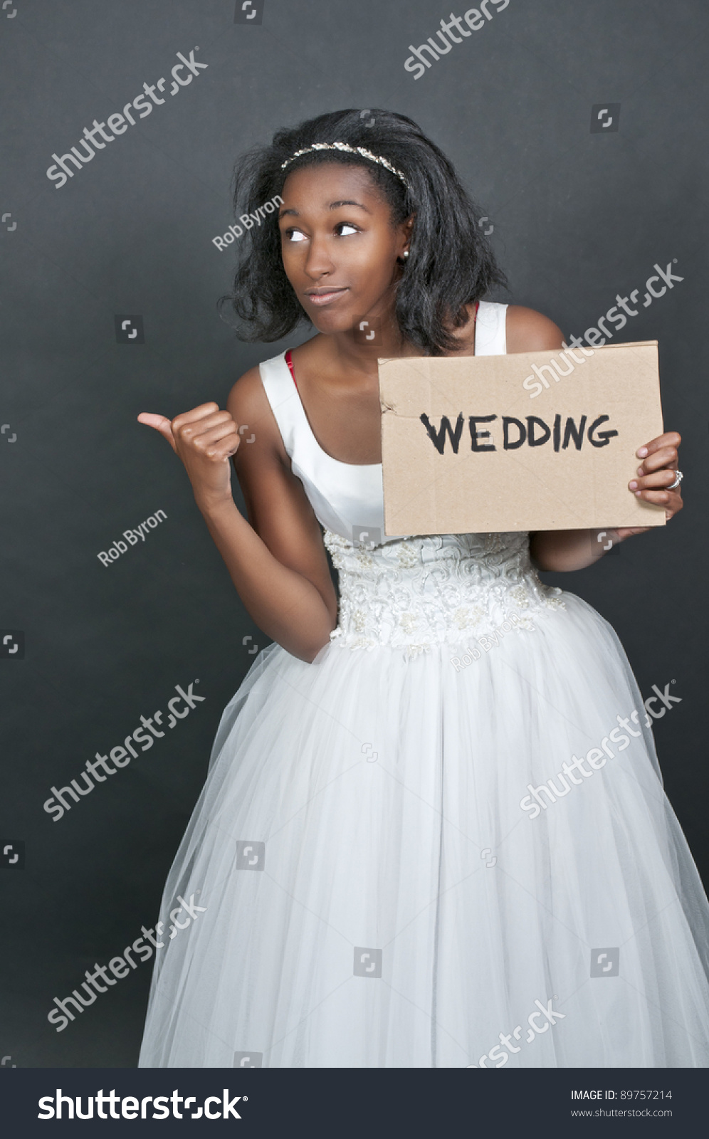 royalty free stock photography black woman wedding dress image african american wedding dresses Black woman in wedding dress