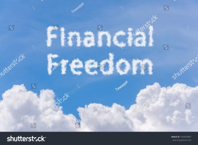 Financial Freedom Concept Text Cloud On Stock Photo 192592907 - Shutterstock