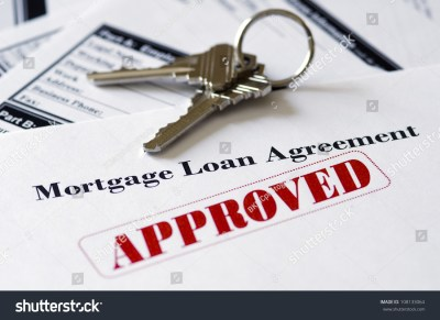 Real Estate Mortgage Approved Loan Document With House Keys Stock Photo 108133064 : Shutterstock