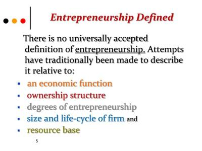 PPT - Entrepreneurship and Tourism Industry PowerPoint ...