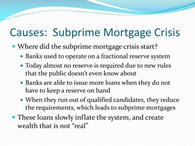 PPT - Current Issue: Financial Crisis and Credit Crunch ...