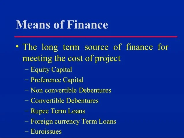 133761133 2-project-financing-in-india-ppt