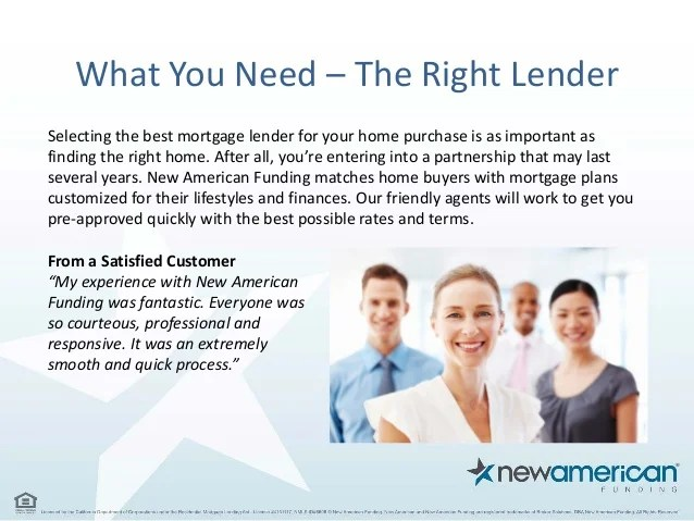 5 Things You Need to Be Pre-Approved for a Mortgage Loan - New Americ…