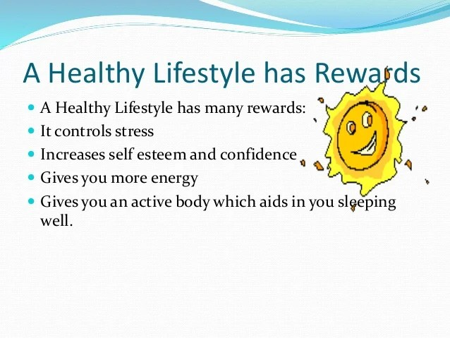 A fit and healthy life powerpoint