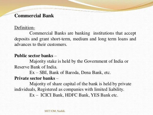 Distinguish between Public Sector Banks & Private Sector ...