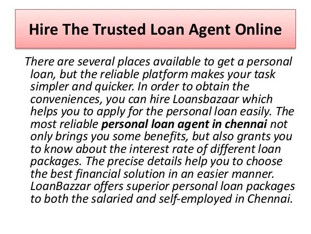 Benefits of getting personal loan from loansbazaar