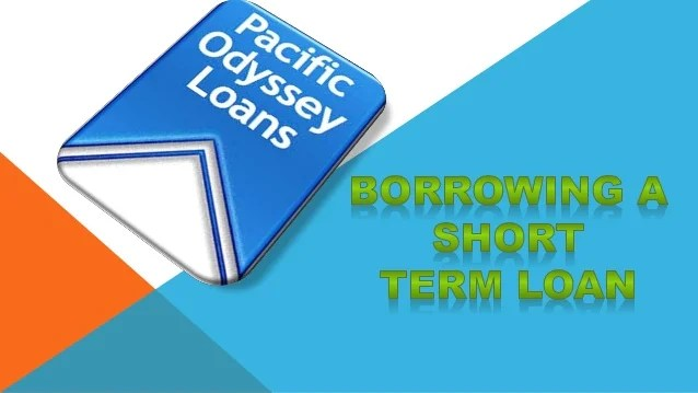 Borrowing a Short Term Loan