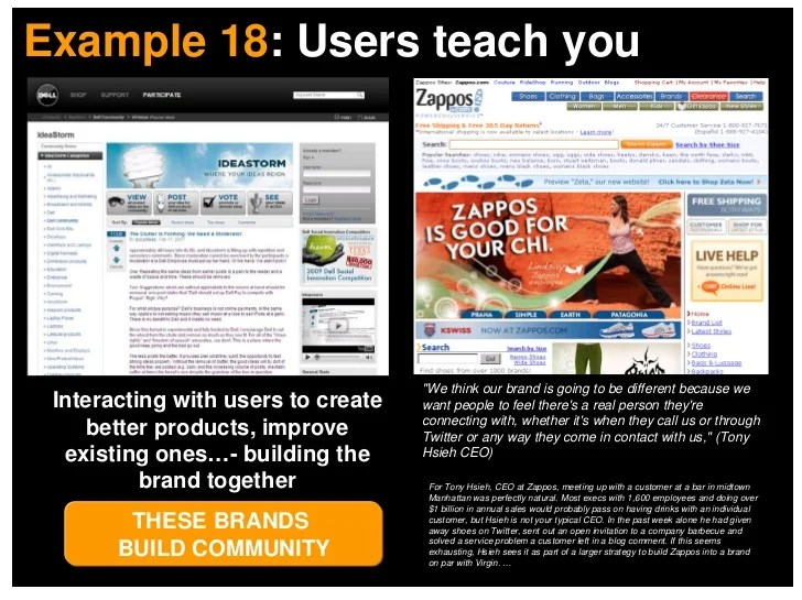 Example 18: Users teach you