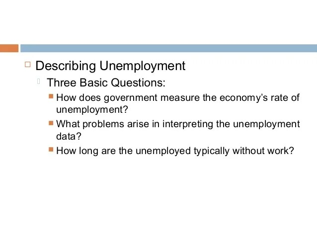 Chapter 13 unemployment