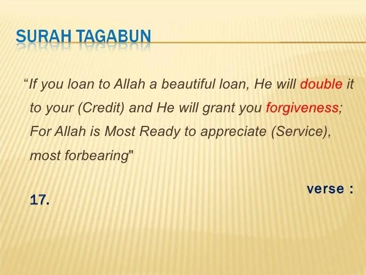 Charity and Islam presentation