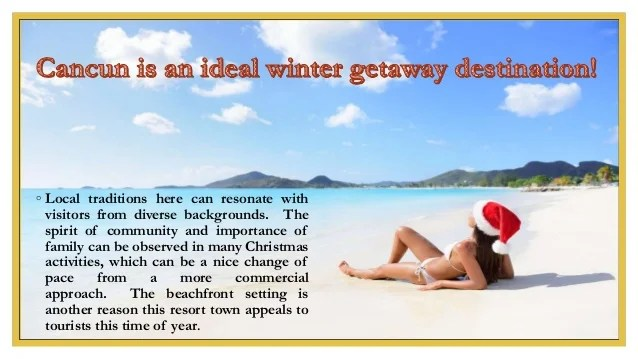 Spend Christmas in Cancun with Lifestyle Holidays Vacation ...
