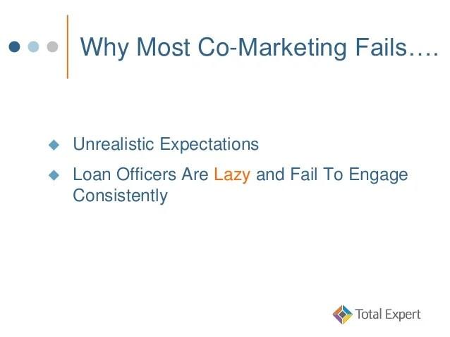Loan Officer Mastermind: Co-Marketing 101