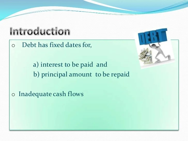 Corporate debt restructuring