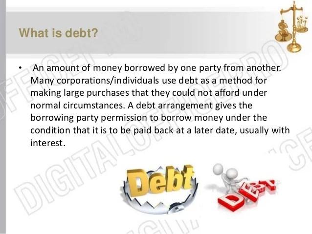 Debt Managment in Pakistan