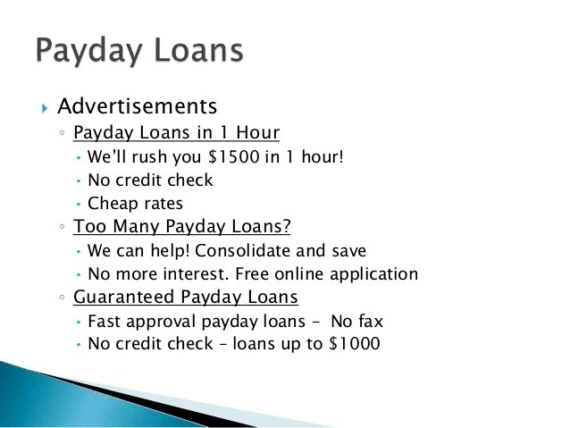Debt Traps: Payday Loans, Car Title Loans, Tax Refund ...
