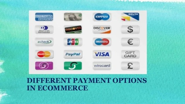 Different Payment Options in Online Shopping