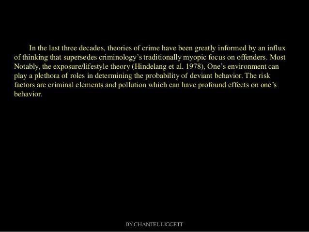 Environmental risk factors for criminal behavior pp5