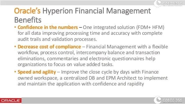 Enterprise Performance Management - HFM